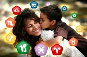 Astrologia desvenda sua rela��o com os filhos
