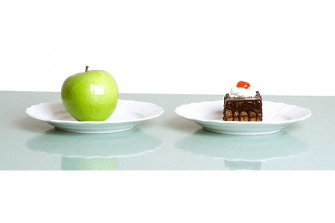 Troque o açúcar por? maçã!