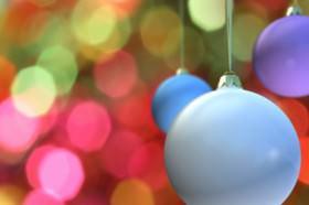 Use mais cores na decora��o natalina