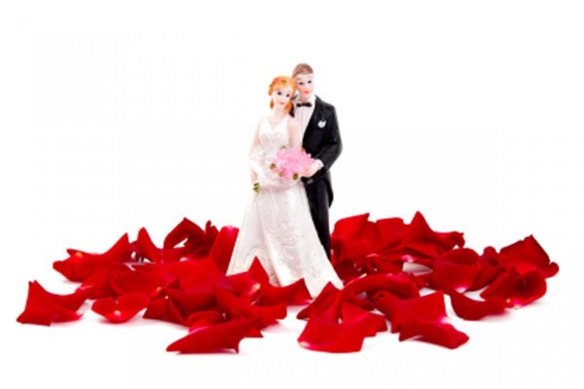 Sa�da dos noivos
