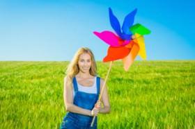 Equilibre sua vida por meio das cores