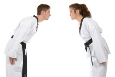 Artes marciais ensinam import�ncia dos advers�rios