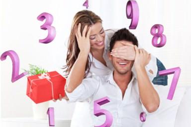 Numerologia sugere presentes para seu amor