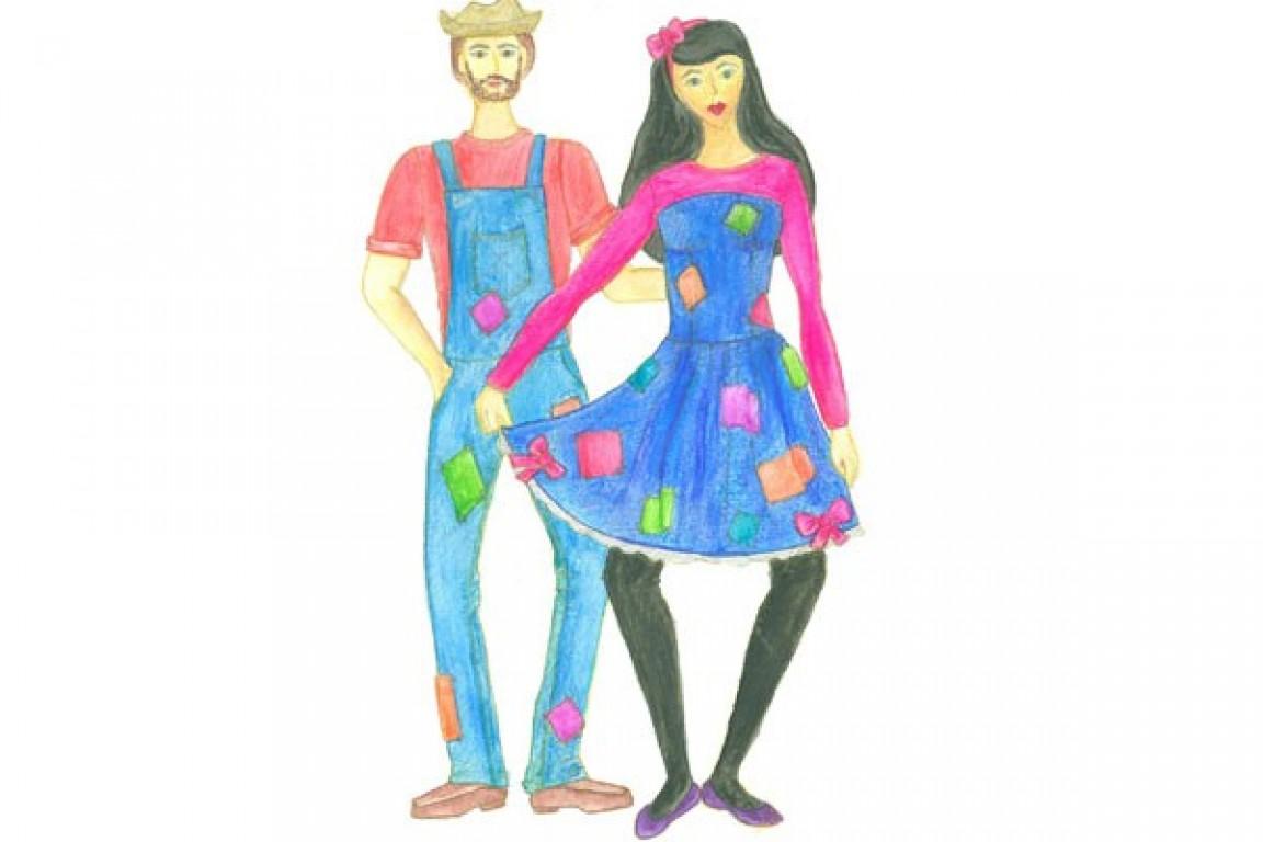 Faça você mesmo: vestido de festa junina