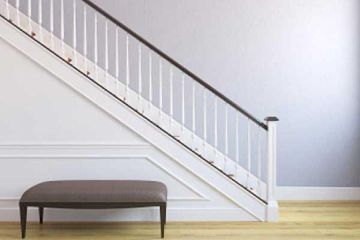 Escadas estreitas