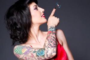 Tatuagem pode ter influ�ncia energ�tica no corpo