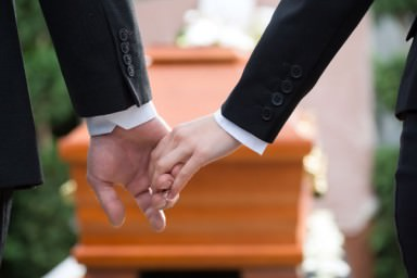 A dor e o choque da morte s�bita