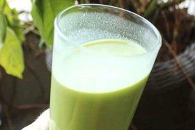 Receita de Suco Verde com sementes germinadas