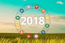Previsões 2018 para todos os signos